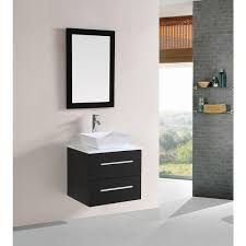 Modern single sink bathroom vanities Luxury Belvedere 24inch Modern Espresso Floating Single Sink Bathroom Vanity Overstock Shop Belvedere 24inch Modern Espresso Floating Single Sink Bathroom