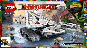 LEGO instructions - The LEGO Ninjago Movie - 70616 - Ice Tank - YouTube