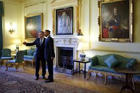 oval office paintings. President Barack Obama Is Welcomed To 10 Downing Street In London By British Prime Minister Gordon Oval Office Paintings