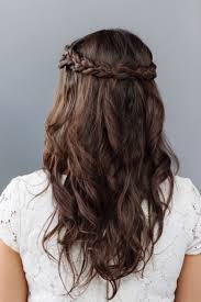 half up half down hairstyles wedding. simple half up down bridesmaid hairstyle how to hairstyles wedding