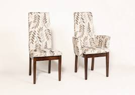 cloth dining room chairs lovely upholstered dining room chairs with arms