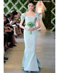 blue wedding dresses spring 2013 bridal fashion week martha