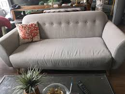 lovely light grey contemporary 3 seater