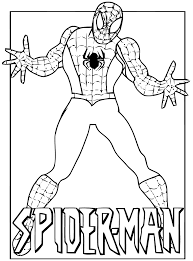 Spiderman 5 Coloriage Spiderman Coloriages Pour Enfants Coloriage Spiderman Dessin A Imprimer L