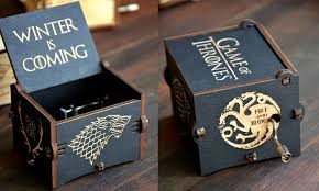 Engraved Wooden Music Box Game Of Thrones 100 Cool Game Of Thrones Gift Ideas For Passionate Fans 85