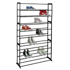 Home Basics 10 Tier Coated Non Woven Shoe Rack 100 Tier Shoe Rack Wayfair 44