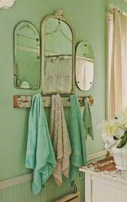 Colorful Bathroom Mirrors