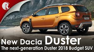 2018 renault duster unveiled.  duster new dacia duster 2018 unveiled at frankfurt motor show  budget suv specs  tech to renault duster