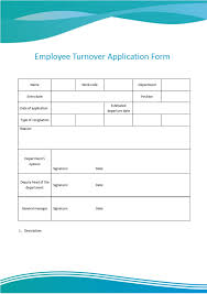 Free Downloadable Employment Application Forms Wps Template Free Download Writer Presentation