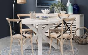 alaska round 120cm dining table