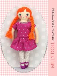 Doll Patterns Cool MILLY 48 Inch Doll Pattern Fabric Doll Pattern Rag Doll Pattern