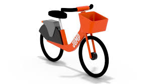 electric bike using your uber app