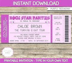 Admission Ticket Template Free Download Admission Ticket Invitation Template Free Party Themansmirror Co