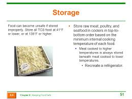 Which Storage Method May Cause Tcs Food To Become Unsafe
