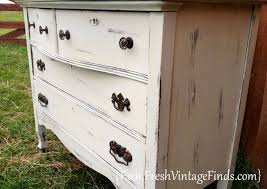 paint furniture whiteVintage White Painted Furniture Roundup  Farm Fresh Vintage Finds