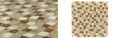 british garden series dandelion beige glass mosaic tile