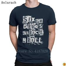 Rock N Roll Jeans Size Chart Sex Rock N Roll Tshirts Letters Create Fitness Clothing T Shirt For Men Spring Autumn Slogan 100 Cotton Anlarach Fitness Cheap T Shirts For Sale
