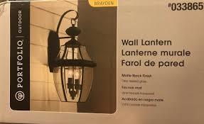 Portfolio Brayden Light Upc 611728189313 Portfolio Brayden 20 25 In H Mystic Black