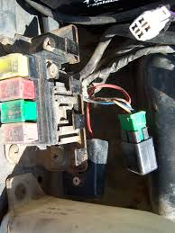 where are all relays on this car sidekick tracker a c option that is correct on early years it has and addon harness laid on top the main harness and adds 2 relays compressor relay heavy wires