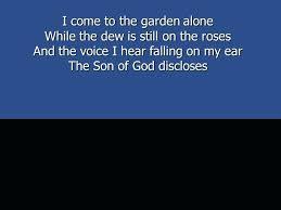 in the garden the 1 i come to the garden garden rescue over in the garden