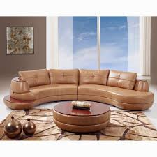 Two Piece Living Room Set Curved Sectionals Leather Sofas Roselawnlutheran