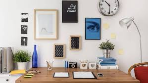 office for home. A Spacious Home Office Offers Ample Storage Space And Combines Aesthetic Practical Concerns. ( For