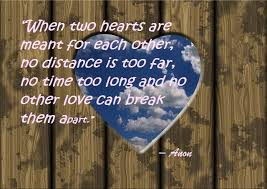 Beautiful Long Distance Relationship Quotes