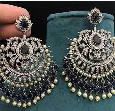chandelier earrings indian earrings