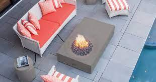 Equinox Spacious Fire Pit Table Brown Jordan Fires Fire Pit Table Outdoor Fire Pit Table Fire Pit
