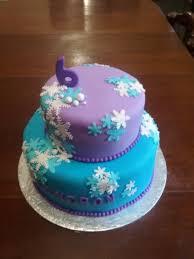 Frozen Themed Birthday Cake Party Animals