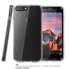 apple 7 plus case. iphone 7 plus ares clear case with screen protector - apple