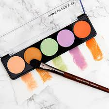 mufe 5 camouflage cream palette color