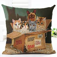 beautiful throw pillows.  Pillows Retro Vintage Beautiful Lovely Cats Throw Pillows Case For 18u0027 Pillow  Covers Cover Cotton Linen To L