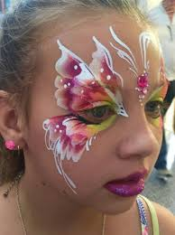 annie reynolds erfly face painting design
