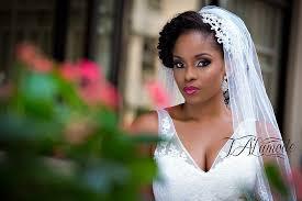nigerian bridal natural hair and makeup shoot black