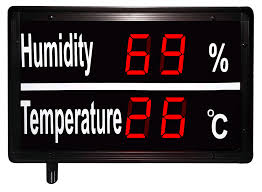dual circuit input 4 20ma or 0 10vdc or remote sensor inputs large humidity and temperature display