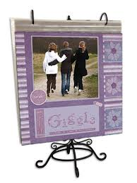 Scrapbook Page Display Stand Pioneer Black Metal Scrapbook Page Stand 2