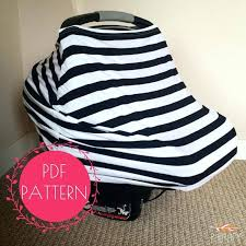 car seats baby car seat cover patterns nursing sewing pattern stretchy for making those awesome