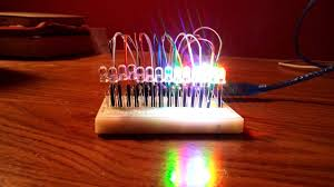 Arduino Led Light Projects Led Project Using Arduino Uno R3 Youtube