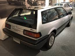 85-89 3rd gen Honda Accord Aero deck