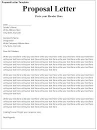 Sample Business Offer Letter Proposal Example For Trucking Services ...