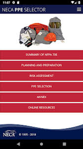 Neca 2018 70e Ppe Selector Guide For Android Free Download