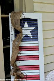 10 cute diy patritotic outdoor decorations diy patriotic shutter