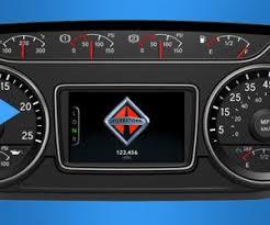hv series international trucks instrument panel