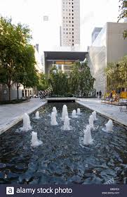 Modern Water Features Water Feature In The Outdoor Space Of The Museum Of Modern Art