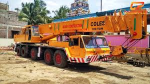 Coles 25 Ton Crane Load Chart Coles T 80 88 80 Tons Crane For Sale And Hire In Tuticorin