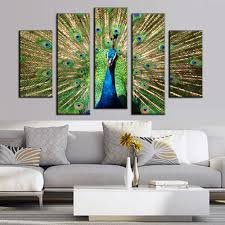 Peacock Living Room Online Get Cheap Painting For Living Room Peacock Aliexpresscom