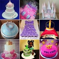 Disney Princess Birthday Cake Images Also Princess Castle Birthday