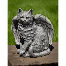 angel kitty with wings kinsey garden decor