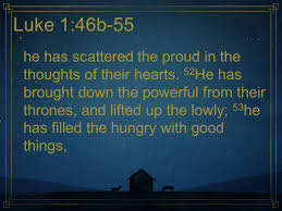 Image result for he has scattered the proud